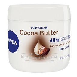 NIVEA Body Cream with Deep Moisture Serum - Cocoa Butter - 15.5oz   Target