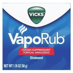 Vicks VapoRub Cough Suppressant Ointment   Target