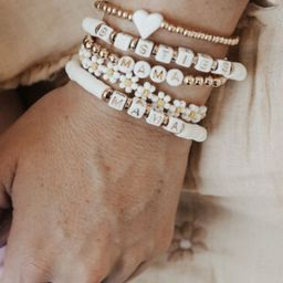 Krista + Kolly Horton: Icon Beaded Bracelet   The Styled Collection