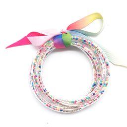 Krista + Kolly Horton: Confetti Jelly Bracelet   The Styled Collection