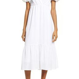 white midi dress | Nordstrom