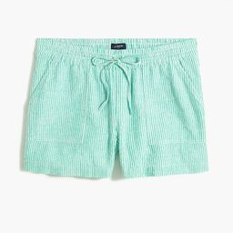 Linen-blend drawstring short   J.Crew Factory