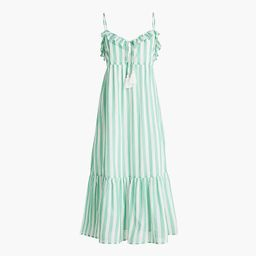 Ruffle tiered maxi cover-up dress   J.Crew Factory