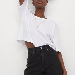 Denim Shorts High Waist   H&M (US)