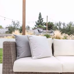 Outdoor Pillow Cover  White Indoor Outdoor Pillow Covers, Designer Outdoor Pillow Covers, Hackner...   Etsy (US)