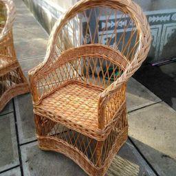 wicker patio chair, sunroom chair, boho chair, wicker armchair, outdoor furniture, big armchair, ...   Etsy (US)