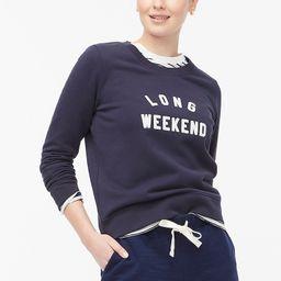 Graphic sweatshirt | J.Crew Factory