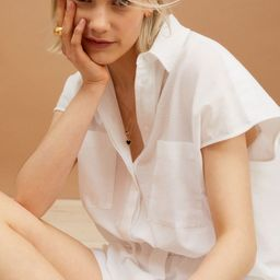 Sleeveless Poplin Shirt   H&M (US)