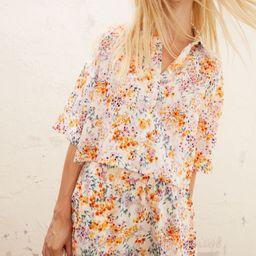 Linen Crop Shirt | H&M (US)