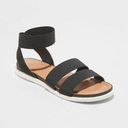 Women's Esme Elastic Ankle Strap Sandals - A New Day™   Target