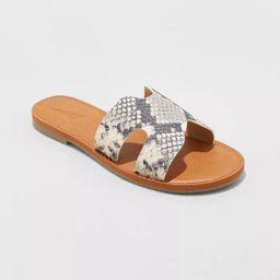 Women's Jenny Slide Sandals - Universal Thread™   Target