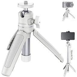 MT-08 Desktop Tripod Extendable Handheld Pole Mini Tripod Selfie Stick Handle Compatible for iPho... | Amazon (US)