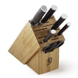Shun Classic 7-Piece Essential Knife Block Set   Williams-Sonoma