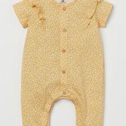 Cotton Jersey Romper Suit | H&M (US)