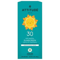 ATTITUDE Little Ones 100% Mineral Sunscreen Fragrance Free | Well.ca