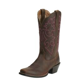Round Up Square Toe Western Boot | Ariat (EU)