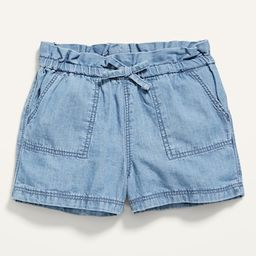 Pull-On Chambray Utility Shorts for Baby | Old Navy (US)
