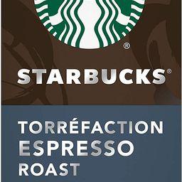 Starbucks by Nespresso Espresso Roast Nespresso Coffee Capsules, Original Line Compatible, 5 X 10...   Amazon (CA)