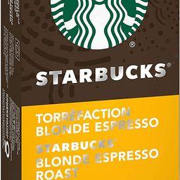 Starbucks by Nespresso Blonde Espresso Roast Nespresso Coffee Capsules, Original Line Compatible,...   Amazon (CA)