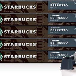 Starbucks by Nespresso, Espresso Dark Roast (50-Count Single Serve Capsules, Compatible with Nesp...   Amazon (CA)