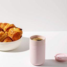W&P Porter Ceramic Mug w/ Protective Silicone Sleeve, Blush 16 Ounces   On-The-Go   Reusable Cup ...   Amazon (CA)