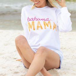 Bahama Mama White Graphic Sweatshirt   The Mint Julep Boutique