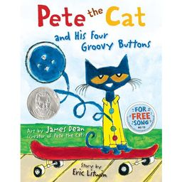 Pete the Cat and His Four Groovy Buttons (Hardcover) | Walmart (US)