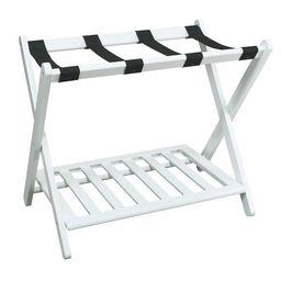 Luggage Rack with Shelf - White | Walmart (US)