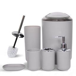CERBIOR Bathroom Accessories Set Bath Ensemble Includes Soap Dispenser, Toothbrush Holder, Tumble... | Walmart (US)