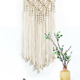 Wall Hanging Braided Boho Macrame Woven Handmade Art Tapestry Home Room Decor | Walmart (US)