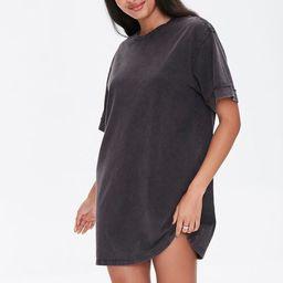 Mineral Wash T-Shirt Dress | Forever 21 (US)