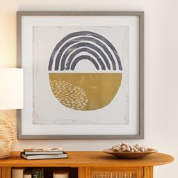 MoDRN Natural Boho El Fortune Framed Art Print | Walmart (US)