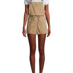 Time and Tru Women's Lightweight Soft Shortalls | Walmart (US)