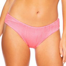 Ribbed Ruched Hipster Bikini Bottom | Everything But Water