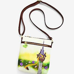 Loungefly Disney Tangled Tower Scene Crossbody Bag - BoxLunch Exclusive   BoxLunch