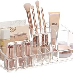 Premium Quality Clear Plastic Cosmetic and Makeup Palette Organizer | Audrey Collection | Amazon (US)
