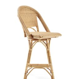 Sunwashed Riviera Swivel Counter Stool | Serena and Lily