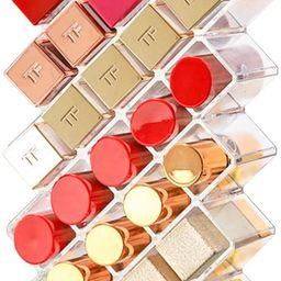 Tasybox Clear Lipstick Holder Organizer, 28 Spaces Acrylic Lipgloss Organizers and Storage Box Di... | Amazon (US)