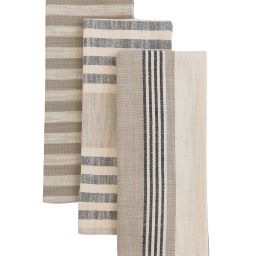 Striped Woven Tea Towels (Set of 3) | McGee & Co.