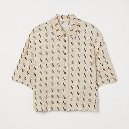 Silk-blend Shirt   H&M (US)
