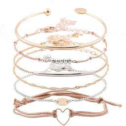 XOCARTIGE Layered Bracelet Set Assorted Beaded Bracelet Multiple Stackable Wrap Bangle Jewelry Ad... | Amazon (US)