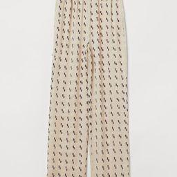 Silk-blend Pants   H&M (US)