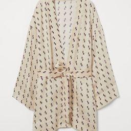 Silk-blend Jacket   H&M (US)