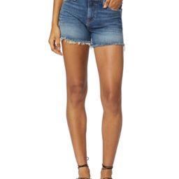 Hudson Jeans Gemma Mid-Rise Denim Cut-Off Shorts   Macys (US)