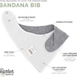 "Parker Baby Bandana Drool Bibs 8 Pack Baby Bibs for Boys, Girls, Unisex - ""Arctic Set"" | Amazon (US)"