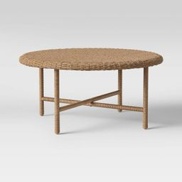 Wicker Patio Coffee Table - Threshold™ designed with Studio McGee   Target