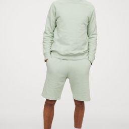 Sweatshirt shorts Regular Fit   H&M (UK, IE, MY, IN, SG, PH, TW, HK)