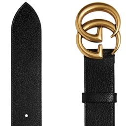 Gucci Leather Belt With Double G Buckle - Farfetch   Farfetch (UK)