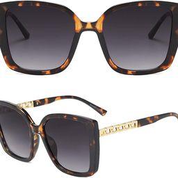 AMOMOMA Retro Vintage Oversized Cat Eye Sunglasses for Women Fashion Outdoor Shades Plastic Frame...   Amazon (CA)