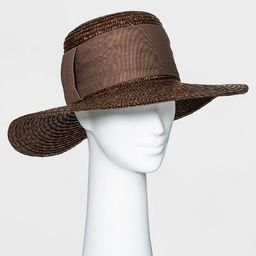 Women's Straw Boater Hat - A New Day™ | Target